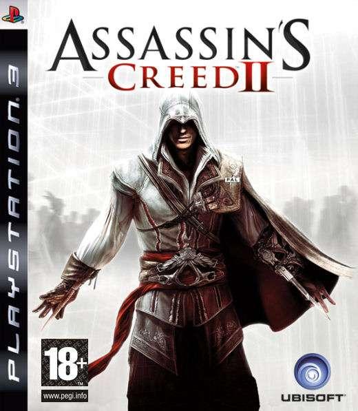 Playstation 3 PS3 ASSASSIN'S CREED II 2 games game jeux jeu video spelletjes