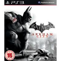 PS3  BATMAN ARKHAM CITY (no manual)