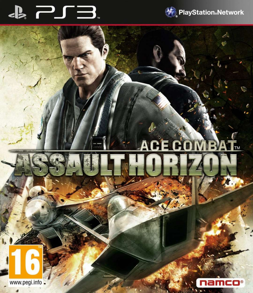 PS3 Ace Combat Assault Horizon (2 discs)