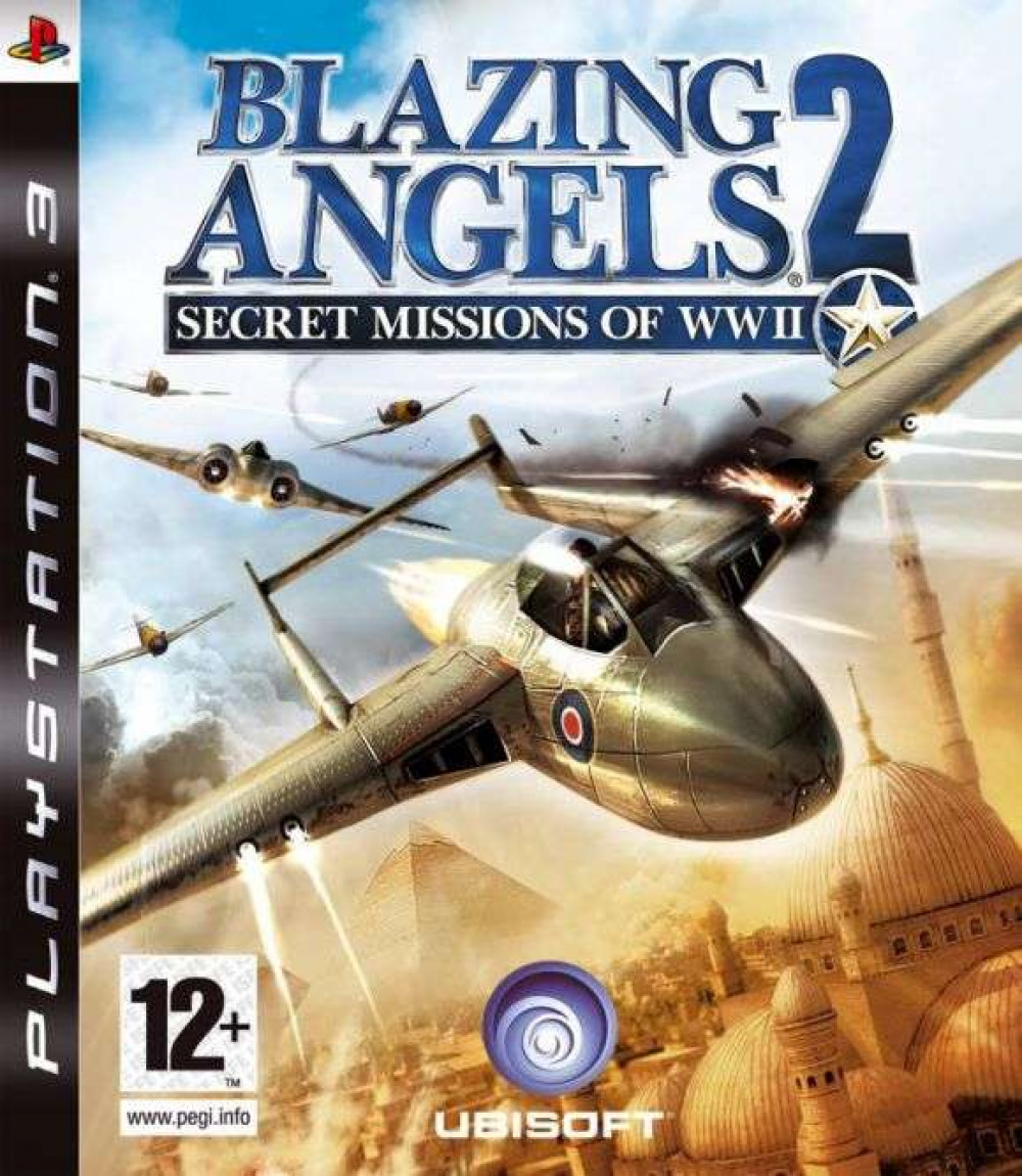 PS3 BLAZING ANGELS 2 Secret Missions WWII