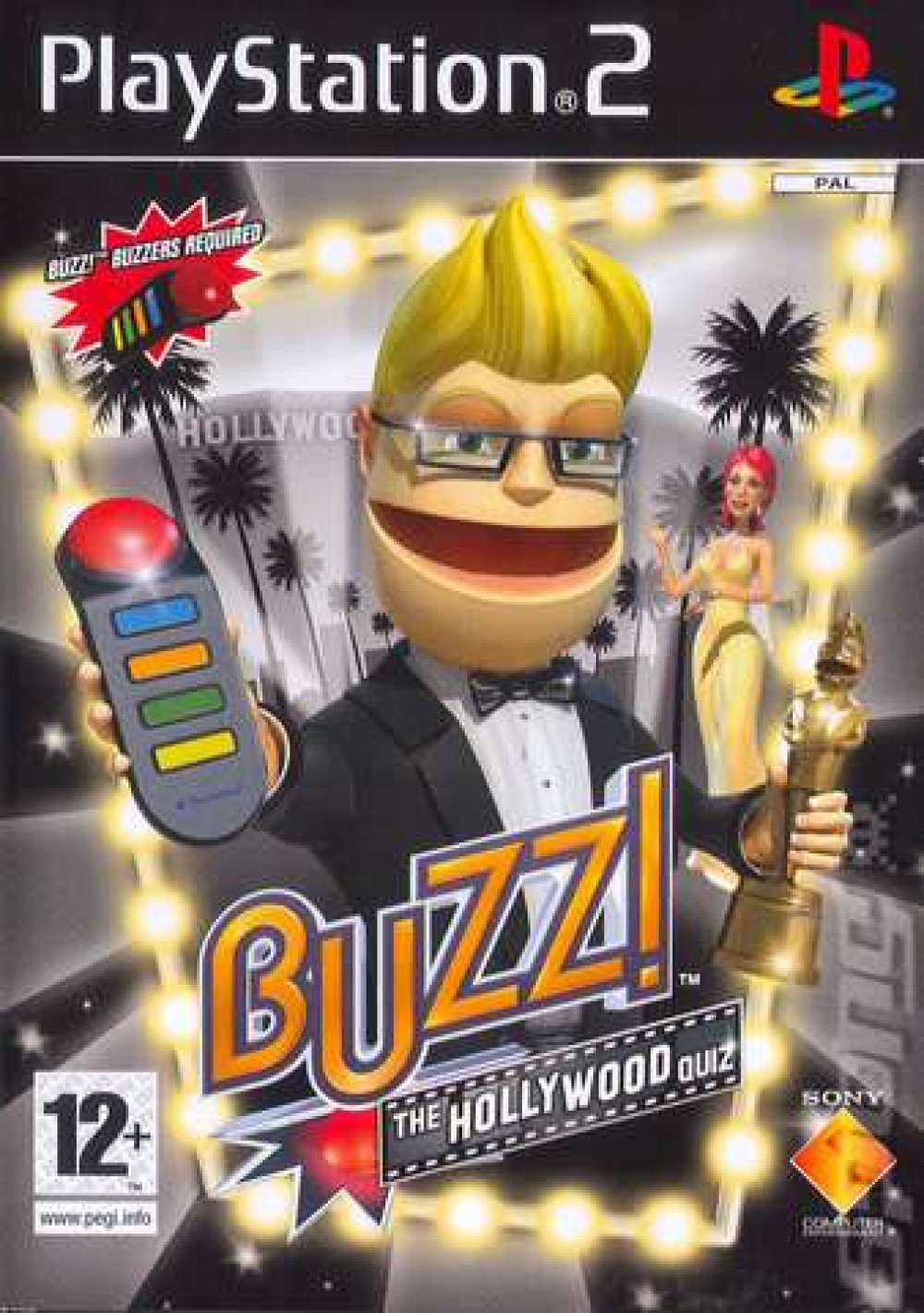 PS2 BUZZ THE HOLLYWOOD QUIZ