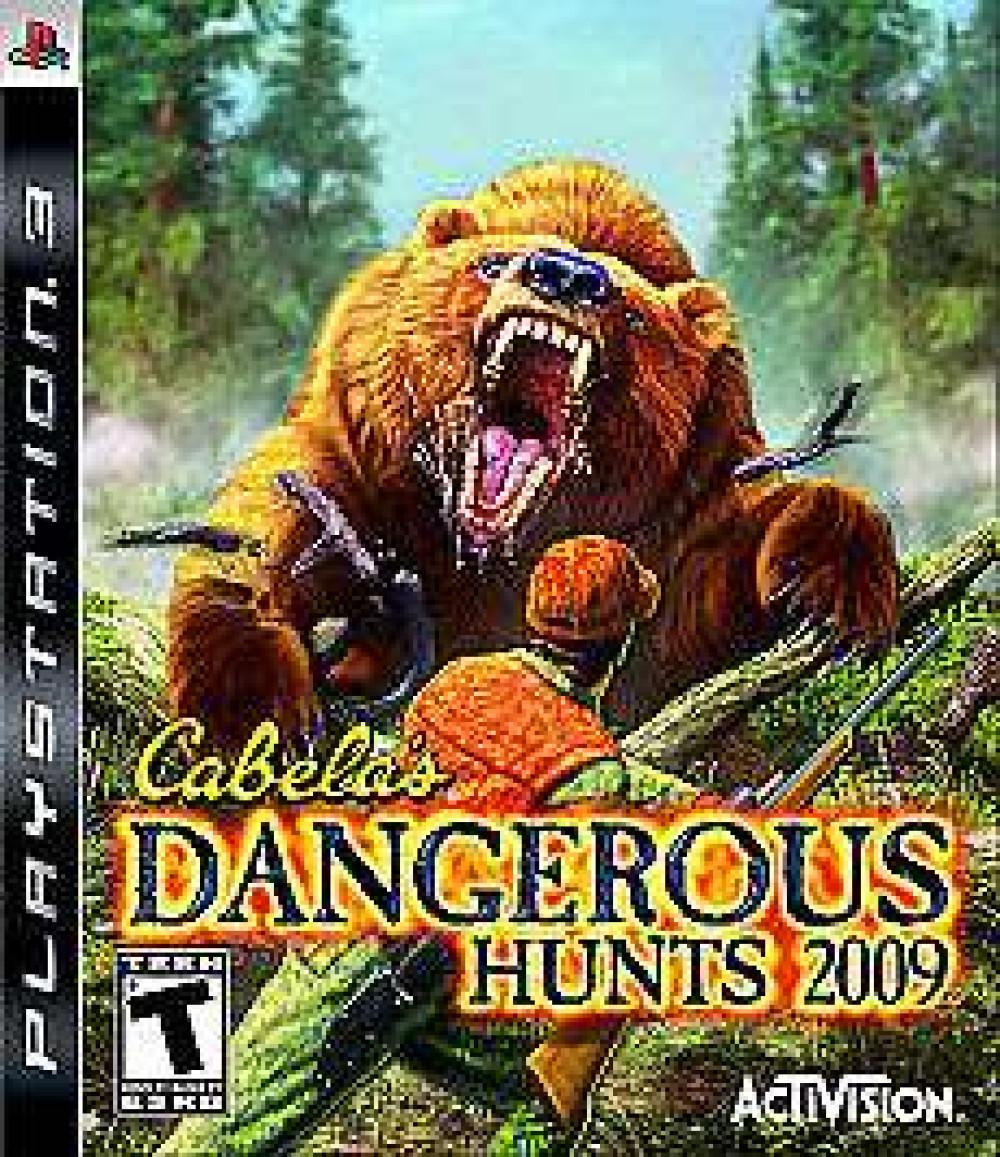 PS3 Cabela's DANGEROUS HUNTS 2009