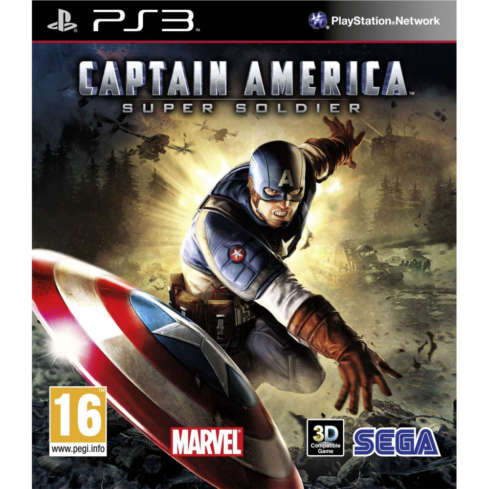 PS3 CAPTAIN AMERICA Super Soldier