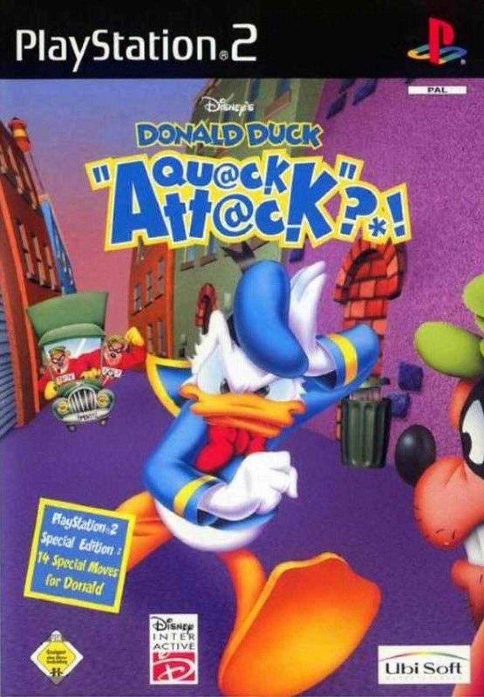 PS2 Disney's DONALD DUCK Quack Attack