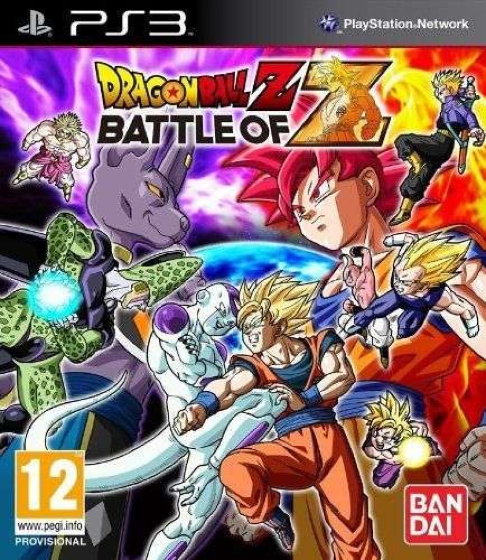 PS3 Dragon Ball Z: Battle of Z