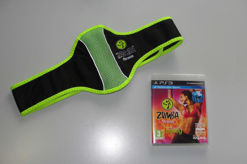 PS3 Zumba Fitness + Belt