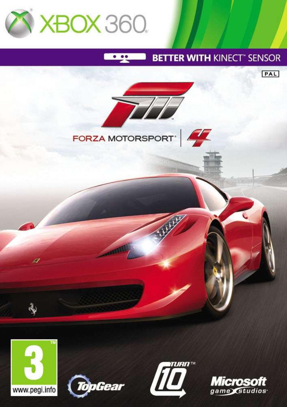 XBOX 360 Forza Motorsport 4