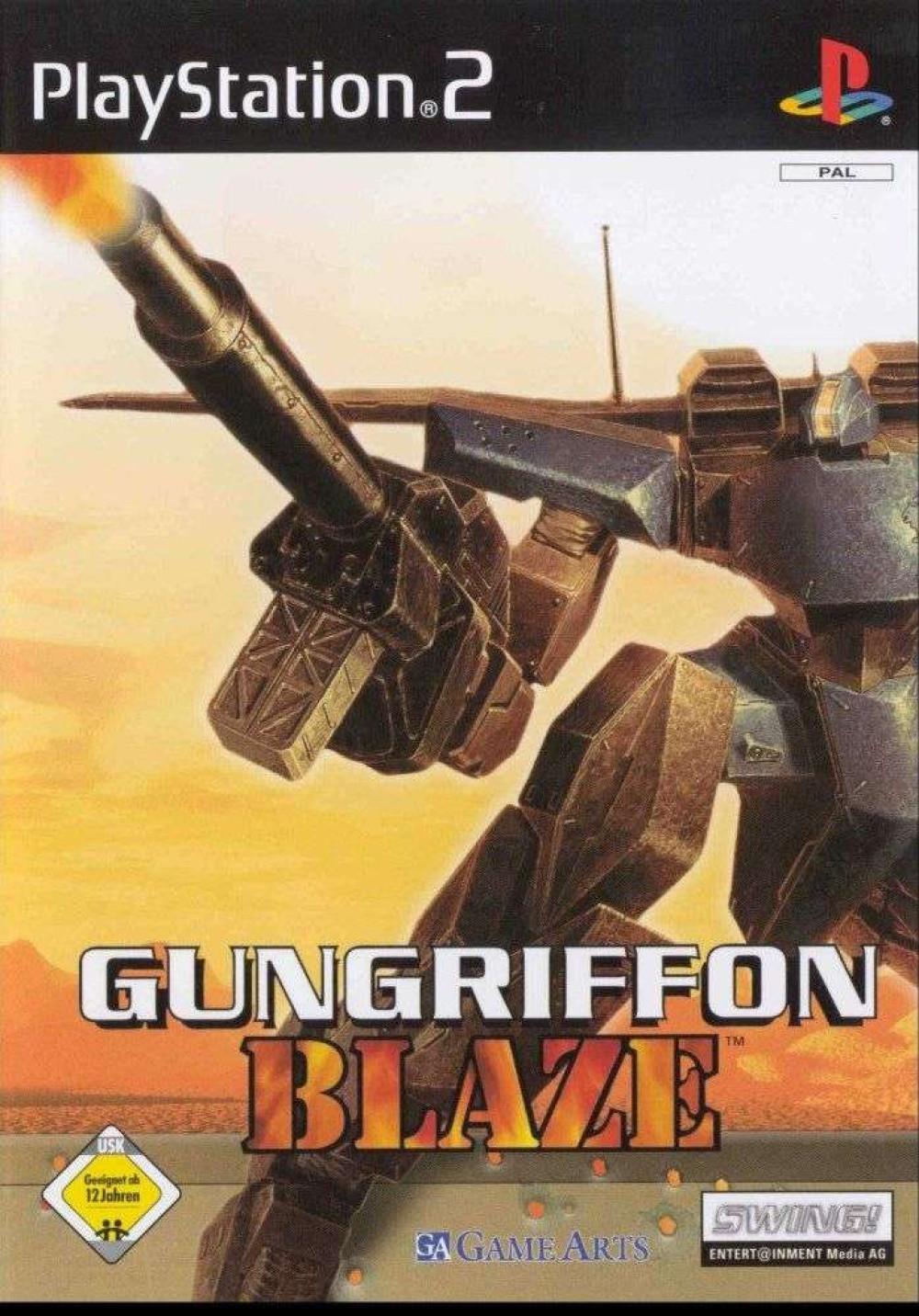 PS2 Gungriffon Blaze