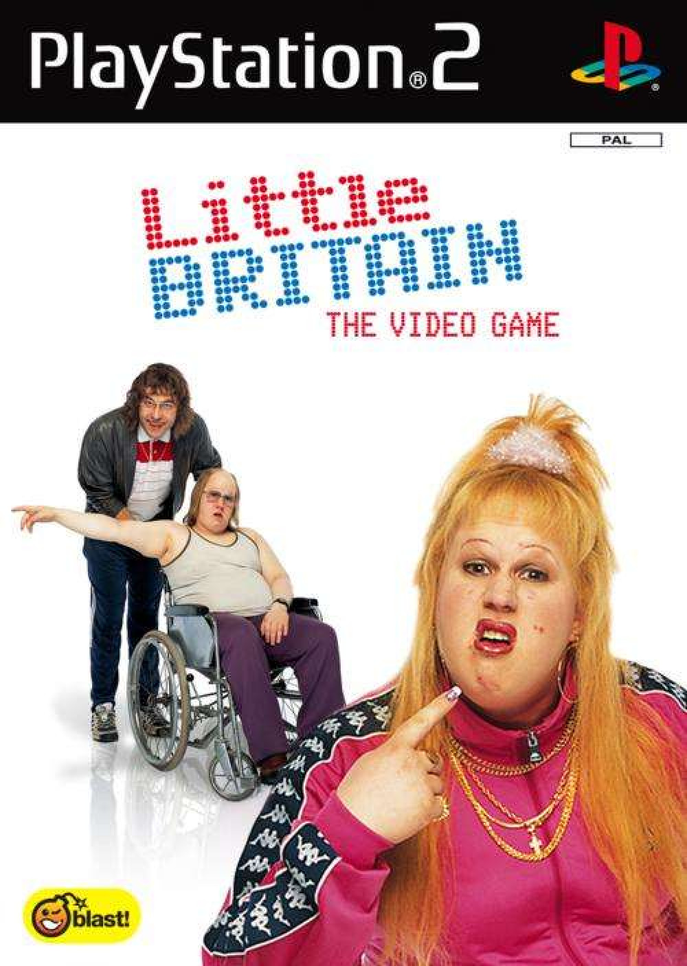 PS2 LITTLE BRITAIN The Video Game