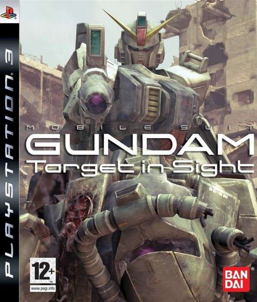PS3 Mobile Suit Gundam Target In Sight