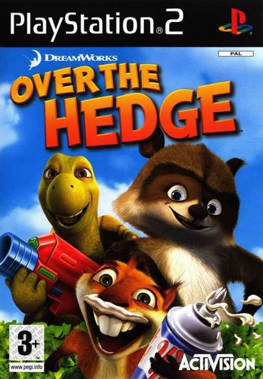 PS2 Over The Hedge