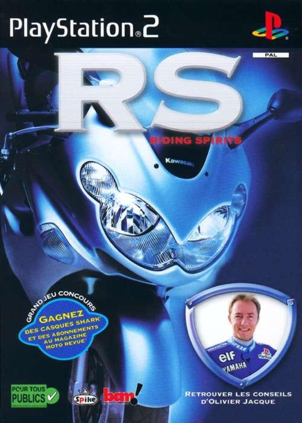 PS2 Riding Spirits