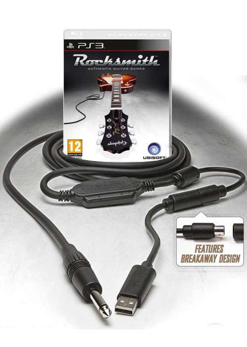 PS3 ROCKSMITH (met kabel)