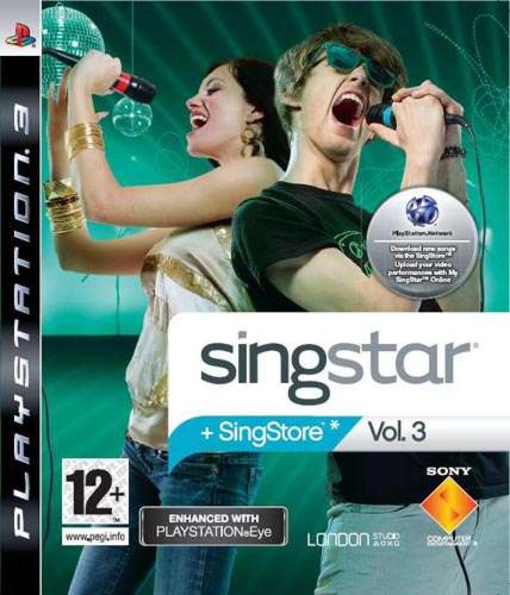 PS3 SINGSTAR +Singstore Vol 3
