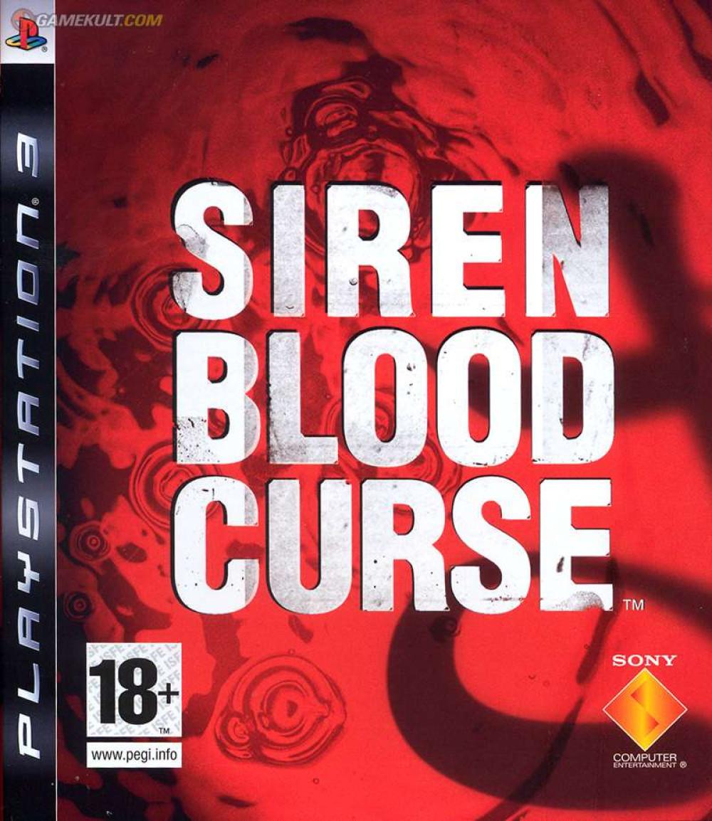PS3 SIREN BLOOD CURSE