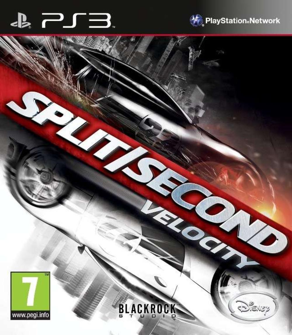 PS3 SPLIT SECOND VELOCITY