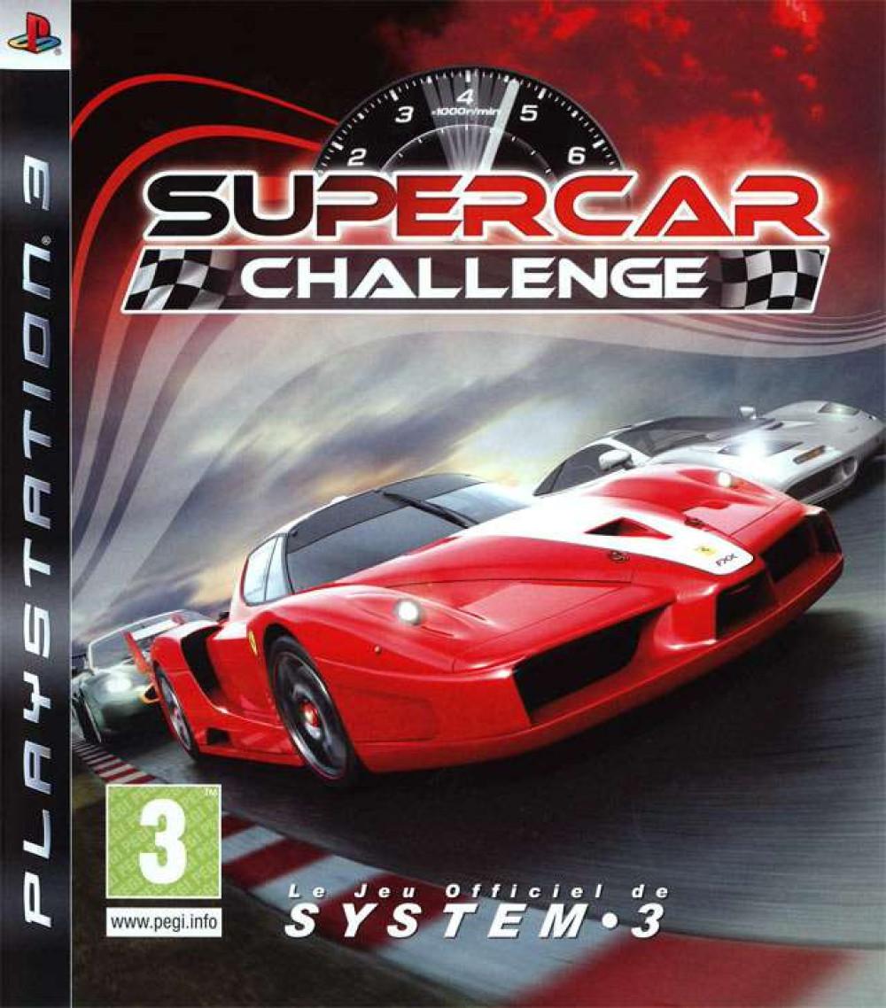 PS3 SUPERCAR CHALLENGE
