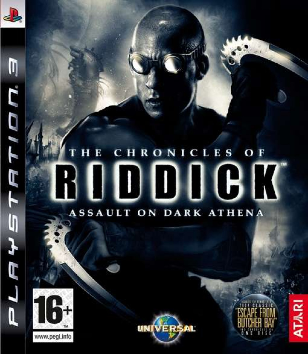 PS3 THE CHRONICLES OF RIDDICK
