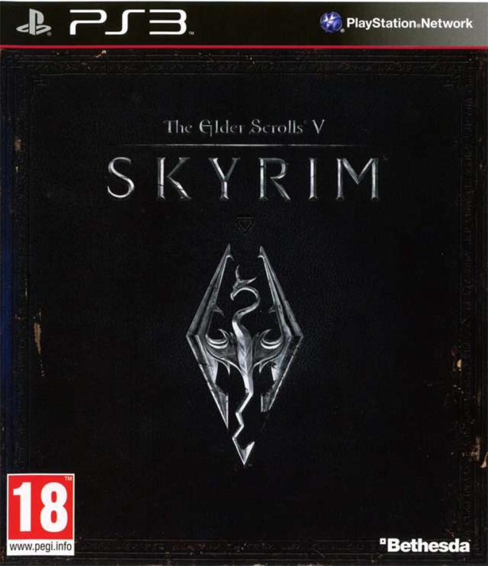 PS3 The Elder Scrolls 5 Skyrim