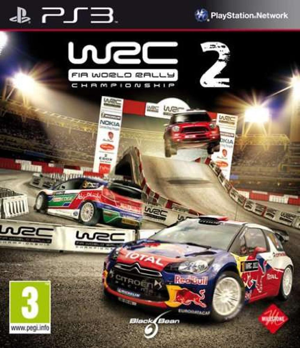 PS3 WRC 2 Fia World Rally Championship