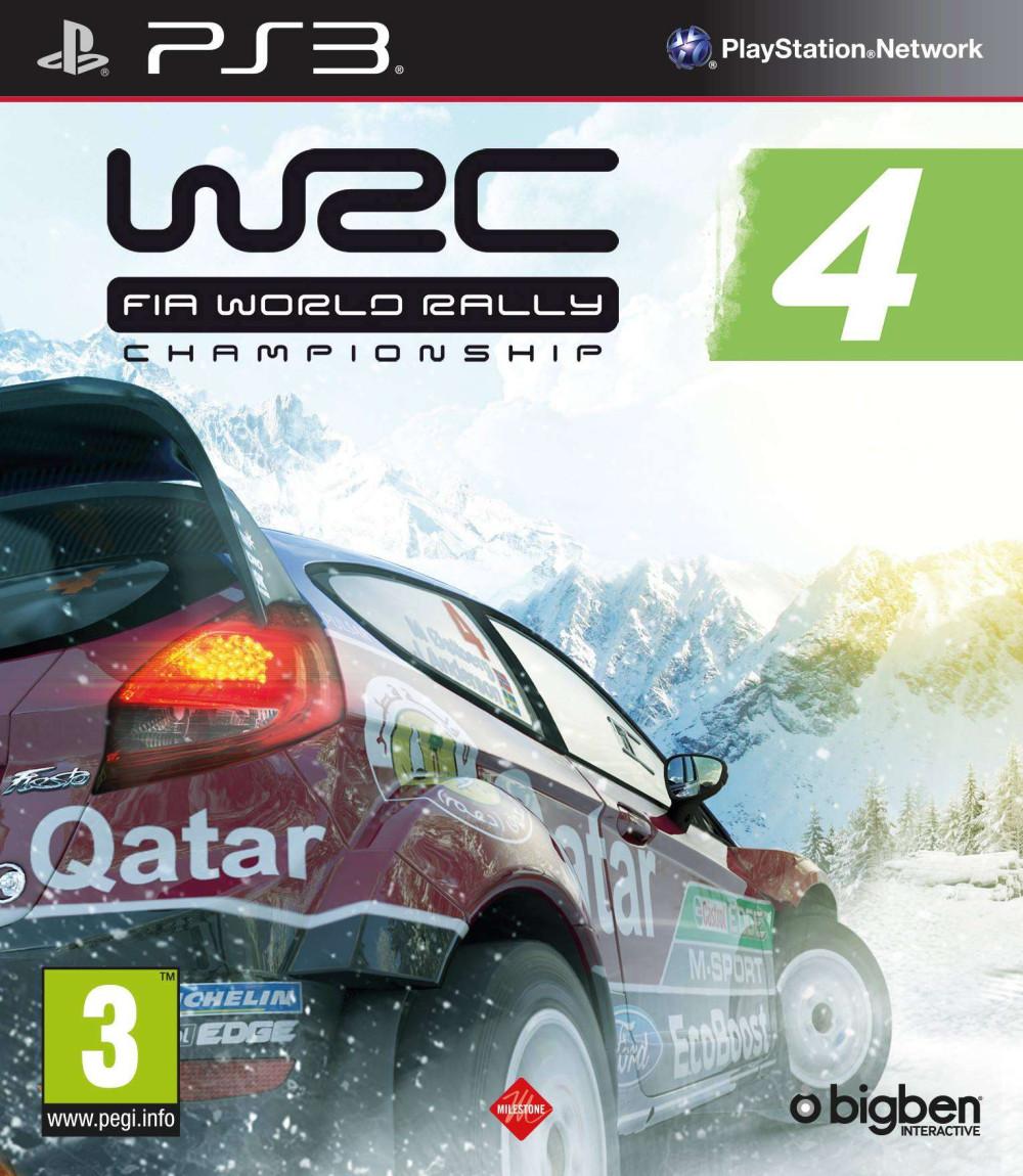 PS3 WRC 4 Fia World Rally Championship