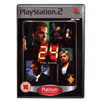 PS2 24 The Game Platinum