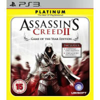 Assassin's Creed II (2) Game Of The Year Edition Platinum PS3