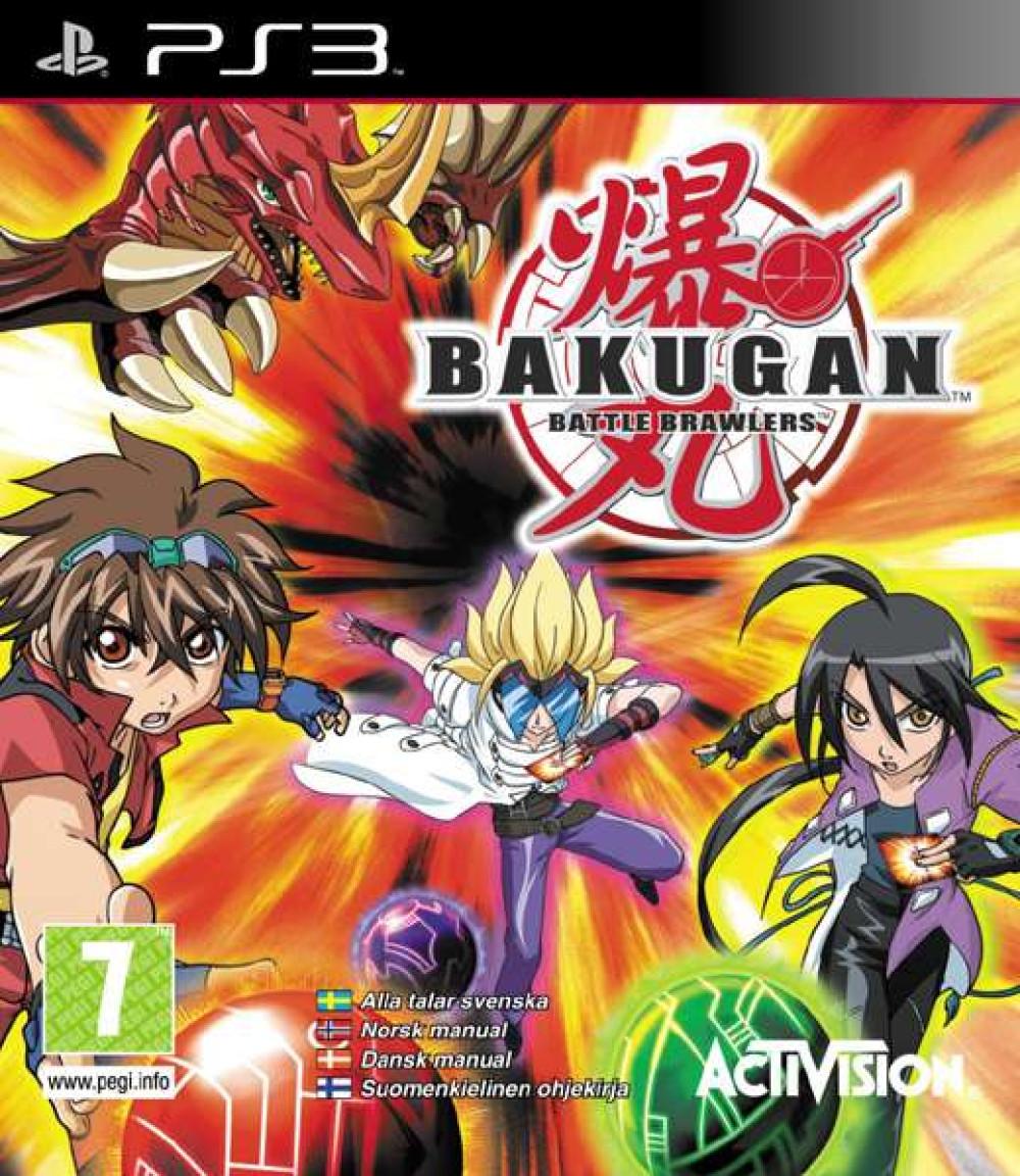 PS3 Bakugan Battle Brawlers