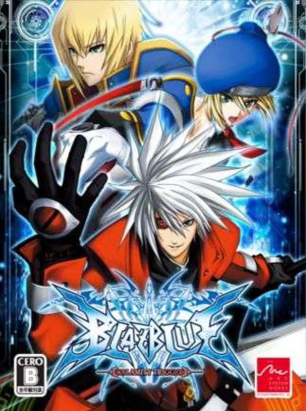 PS3 BLAZBLUE CALAMITY TRIGGER (Japanese version)