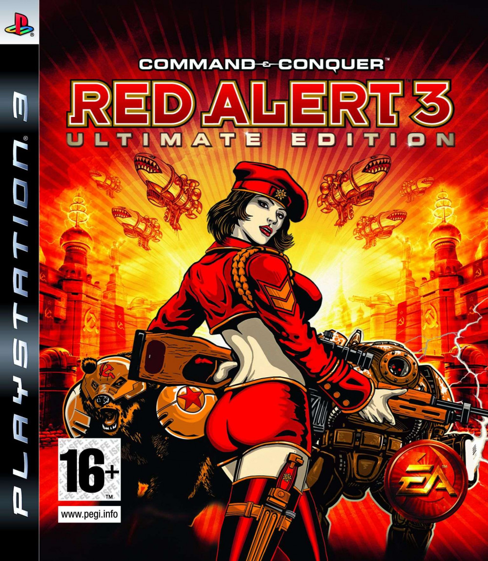PS3 COMMAND & CONQUER RED ALERT 3 Ultimate Edition