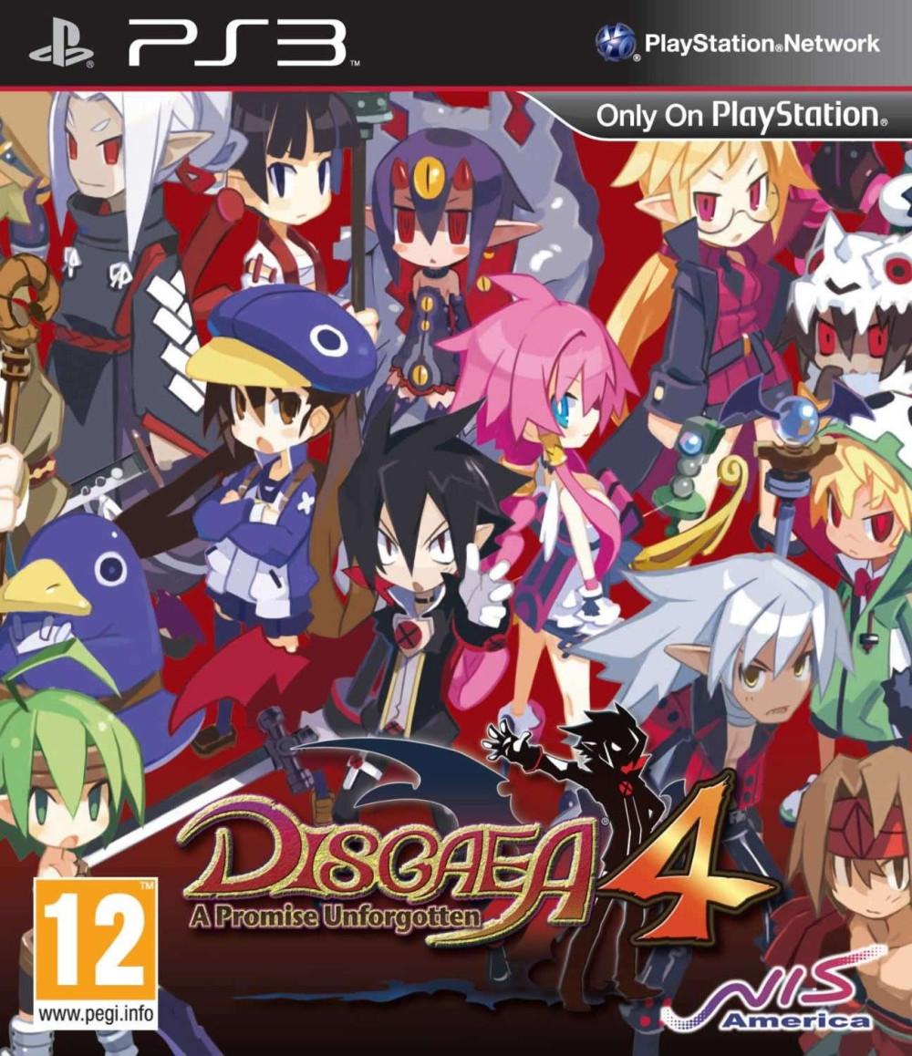 PS3 DISGAEA 4 A Promise Unforgotten