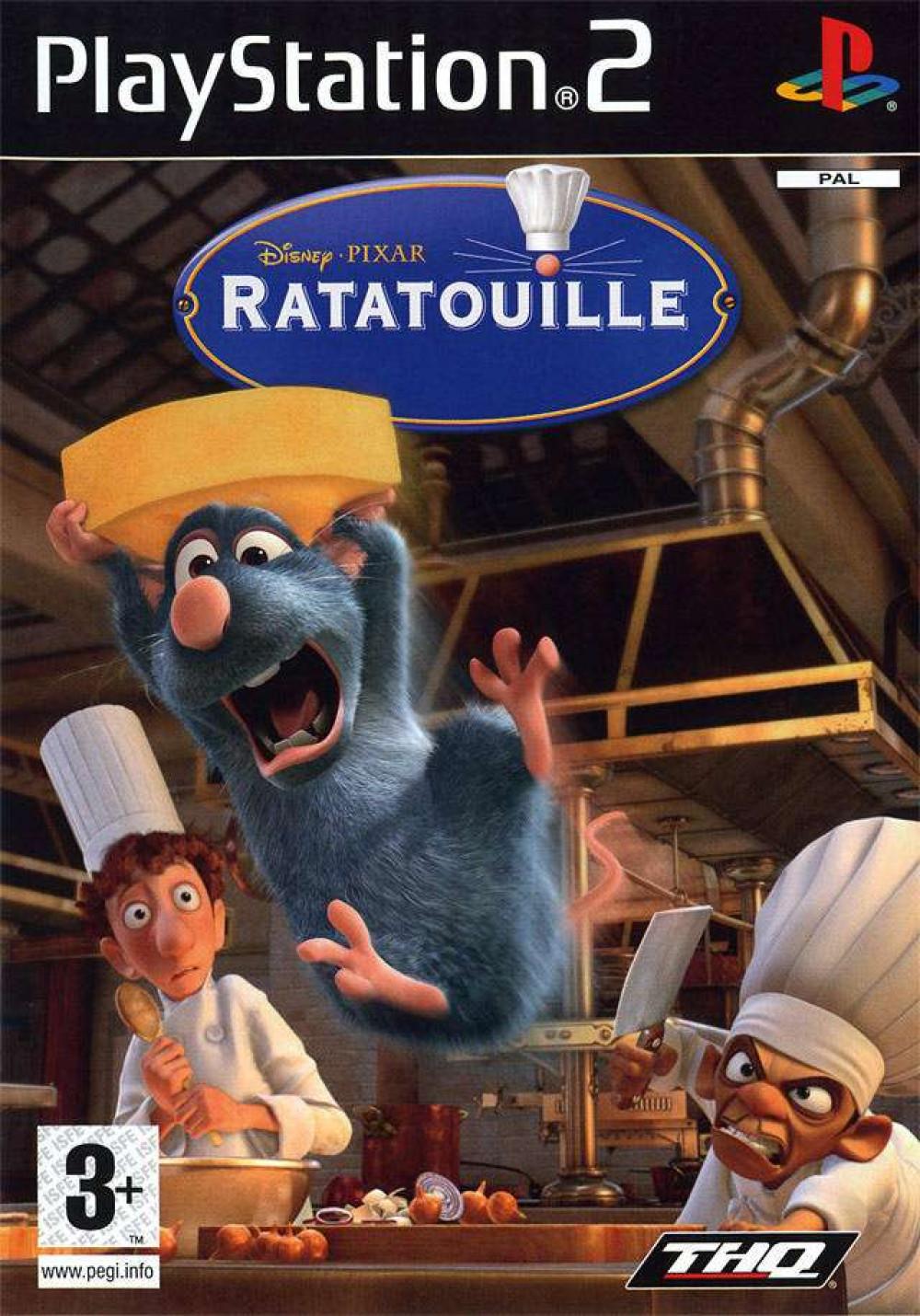 Disney Pixar Ratatouille PS2