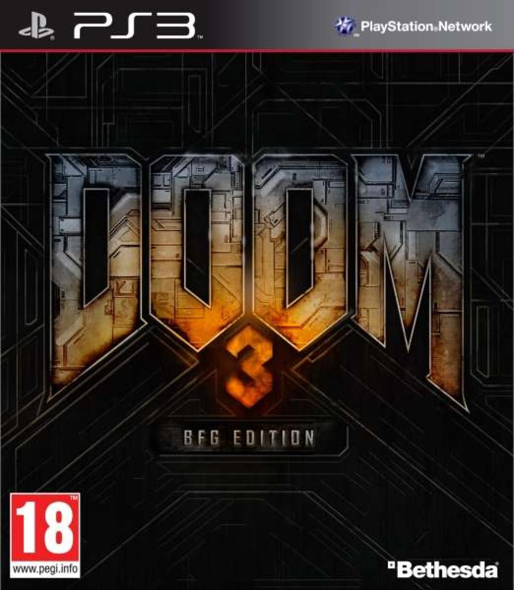 PS3 Doom 3 BFG Edition
