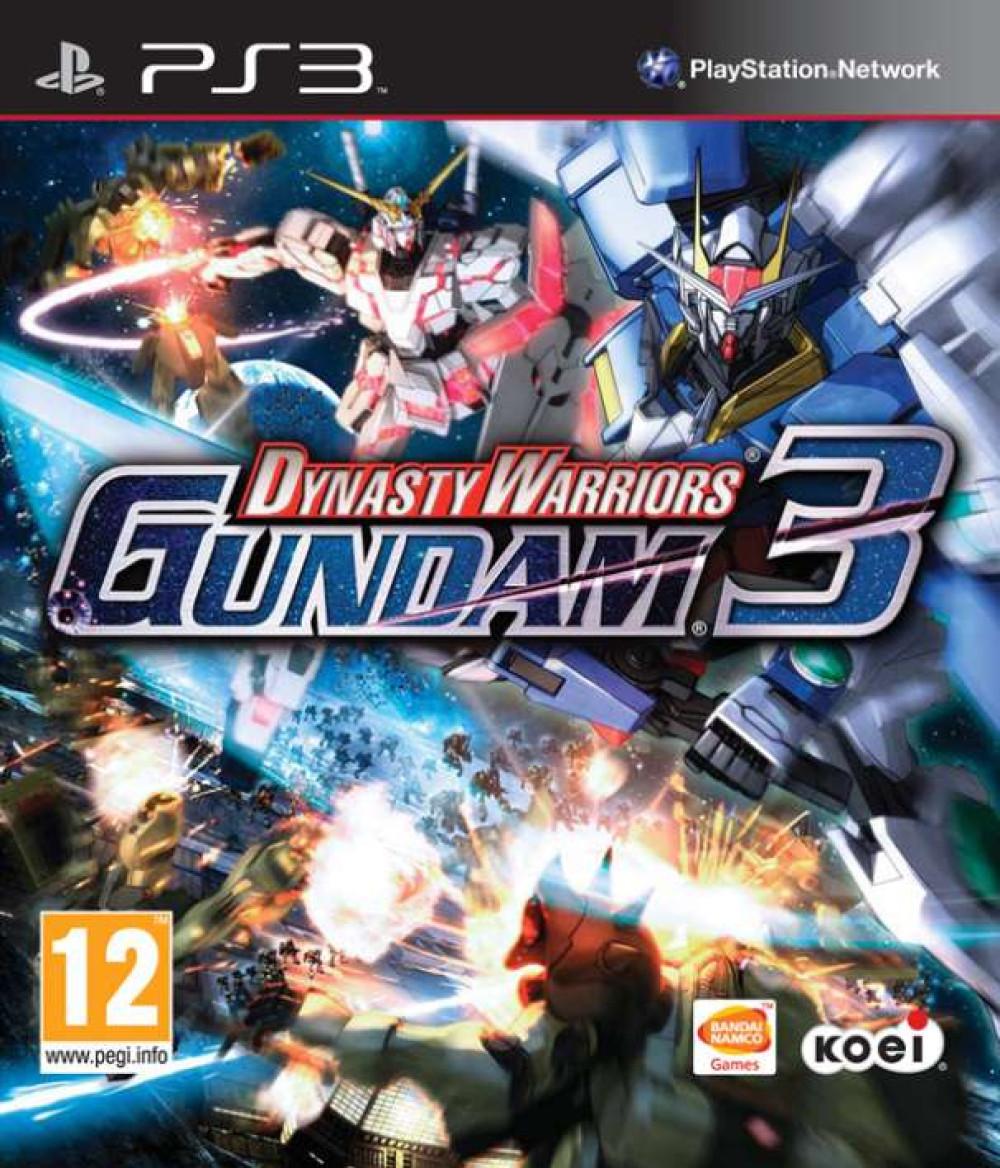 PS3 DYNASTY WARRIORS GUNDAM 3