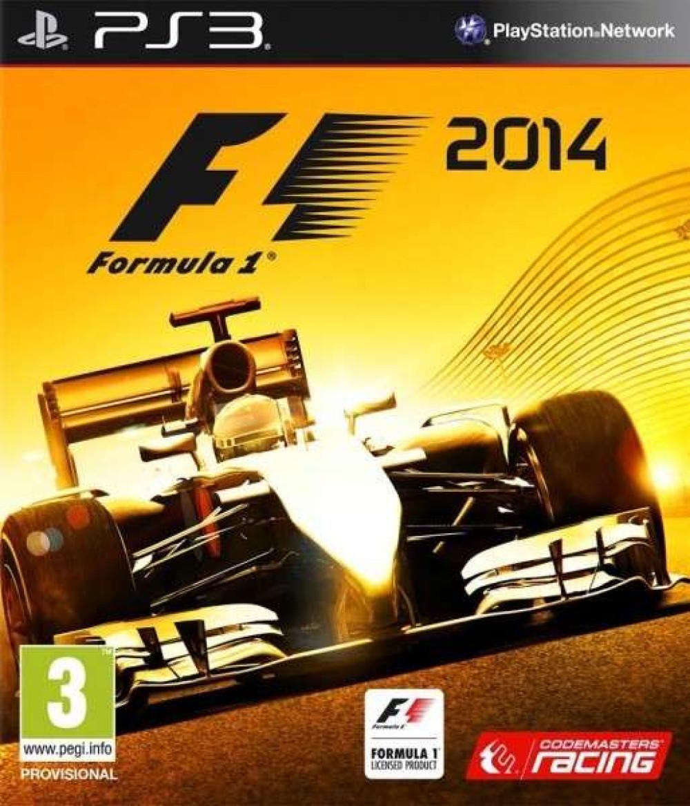 PS3 Formula One 2014