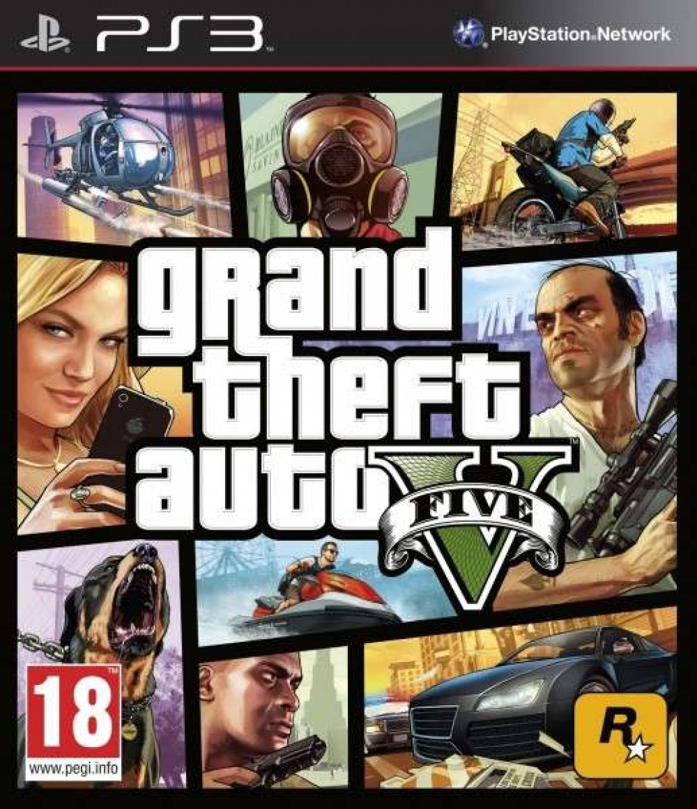 Grand Theft Auto V GTA 5 PS3