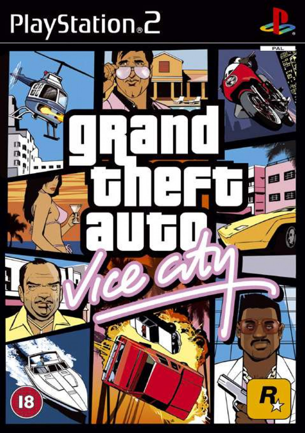 GTA Grand Theft Auto Vice City PS2