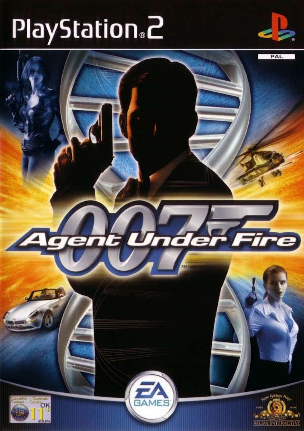 James Bond 007 in Agent Under Fire PS2