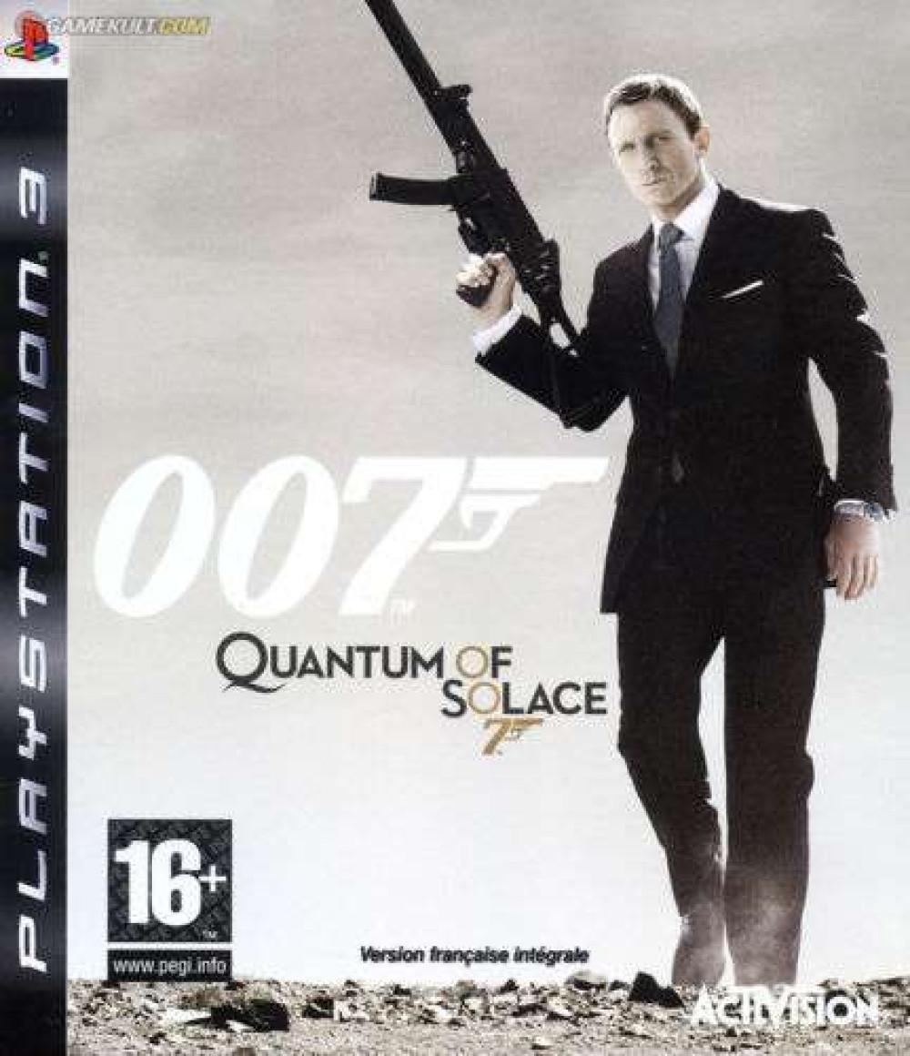James Bond 007 Quantum of Solace PS3