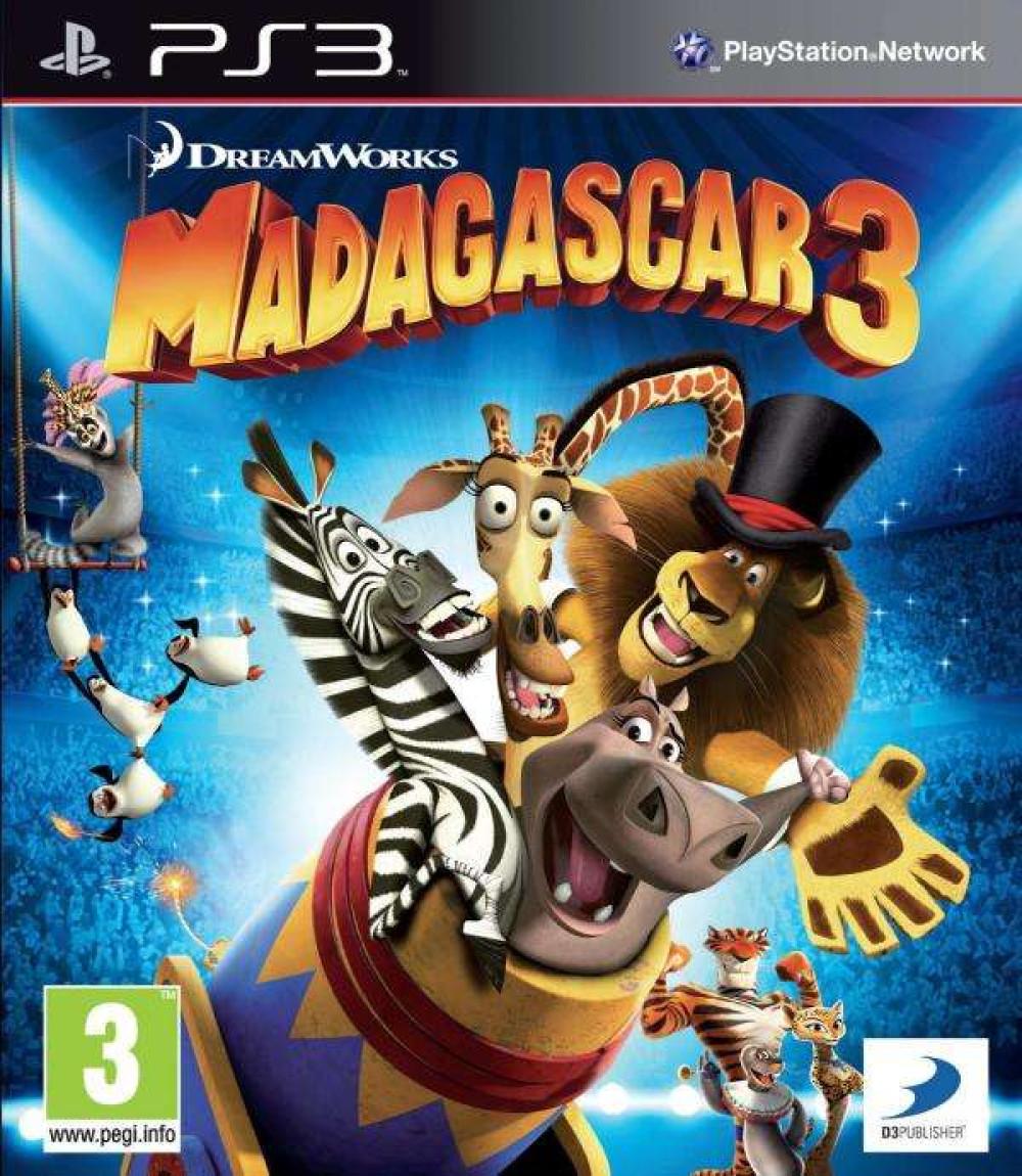 PS3 Madagascar 3