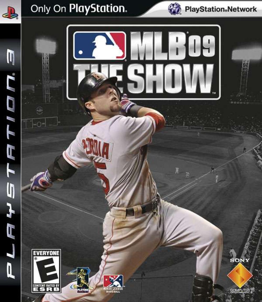 PS3 MLB 09 THE SHOW Major Lague Baseball 09 The Show