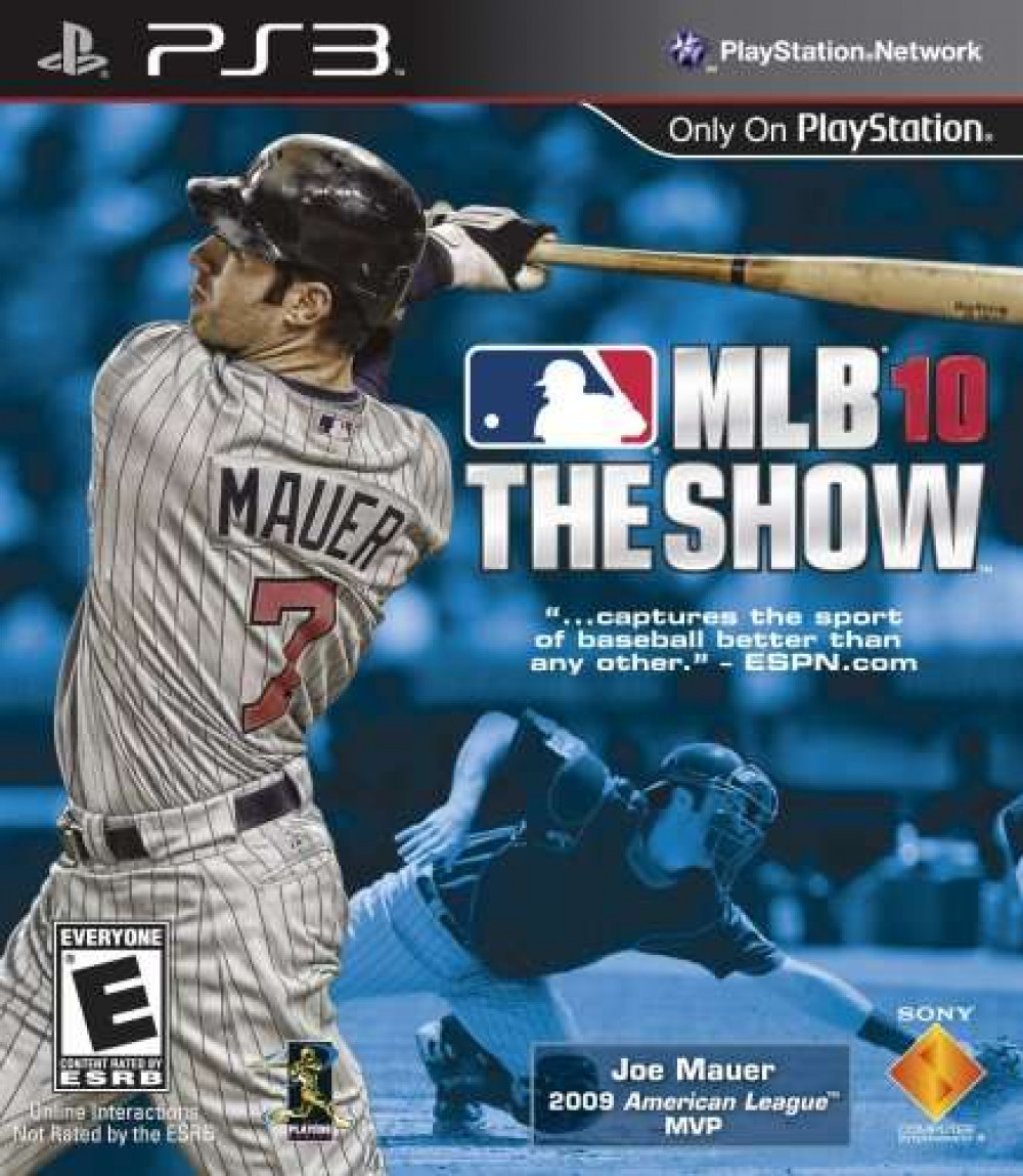 PS3 MLB Major League Baseball THE SHOW 10