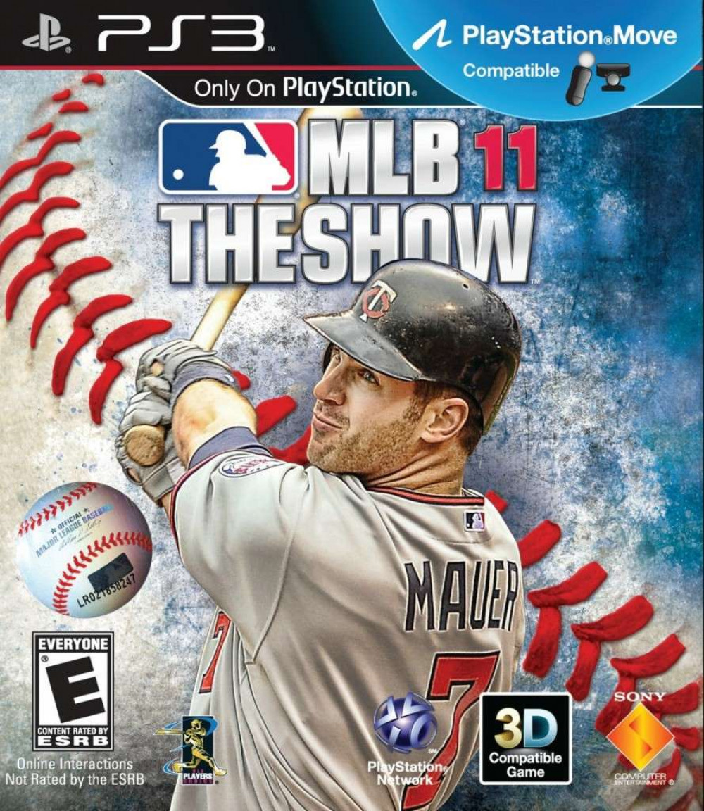 PS3 MLB Major League Baseball THE SHOW 11