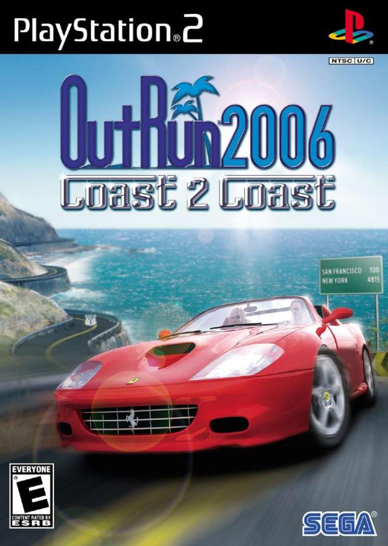 Outrun 2006 Coast 2 Coast PS2