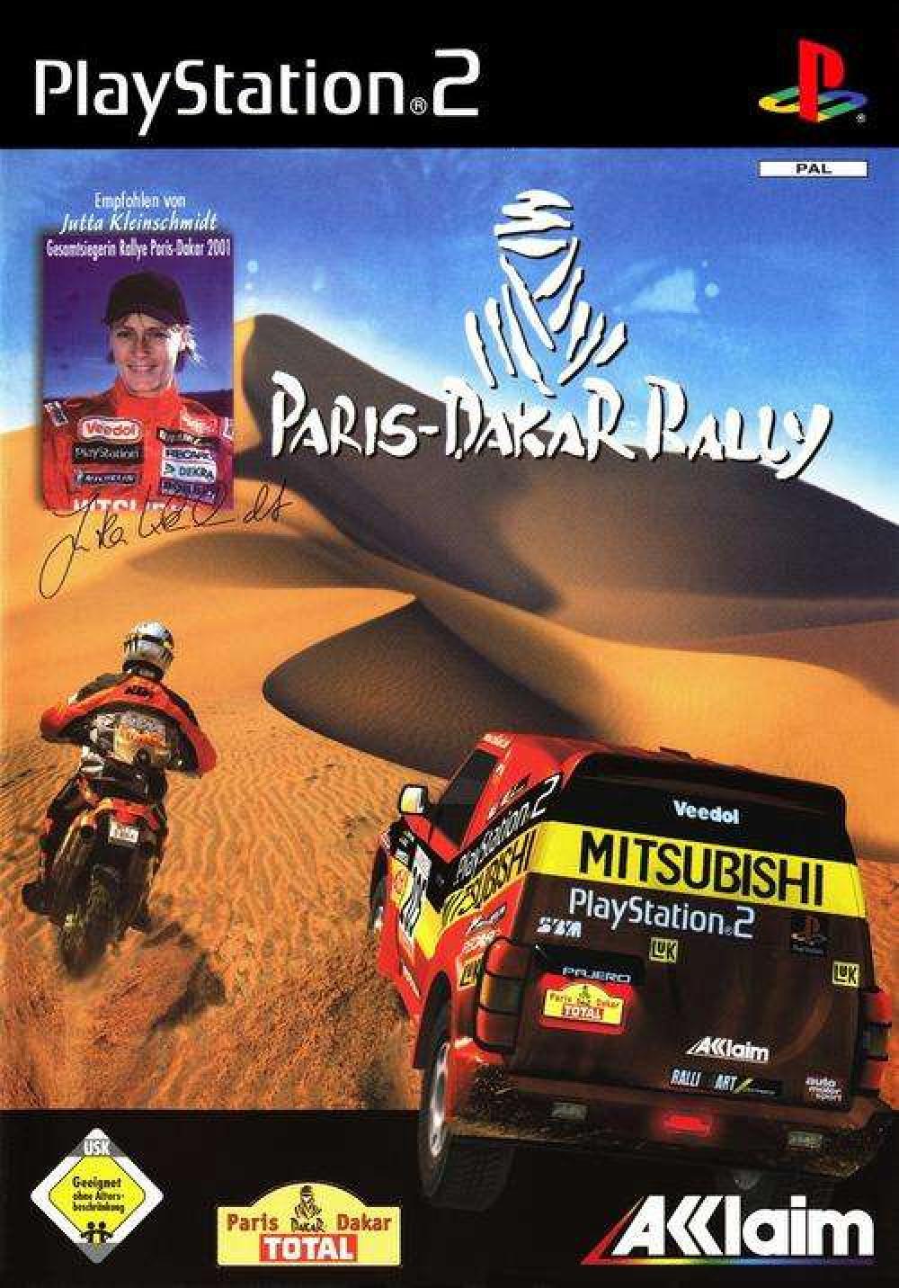 Paris Dakar Rally PS2
