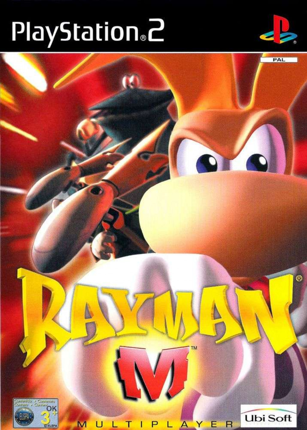 Rayman M PS2