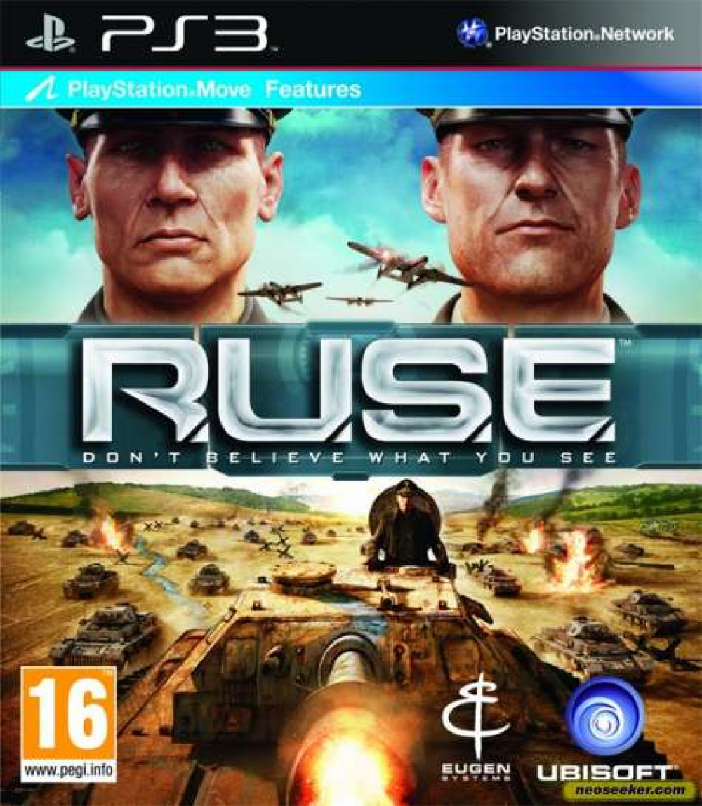 PS3 RUSE Don't Believe What You See