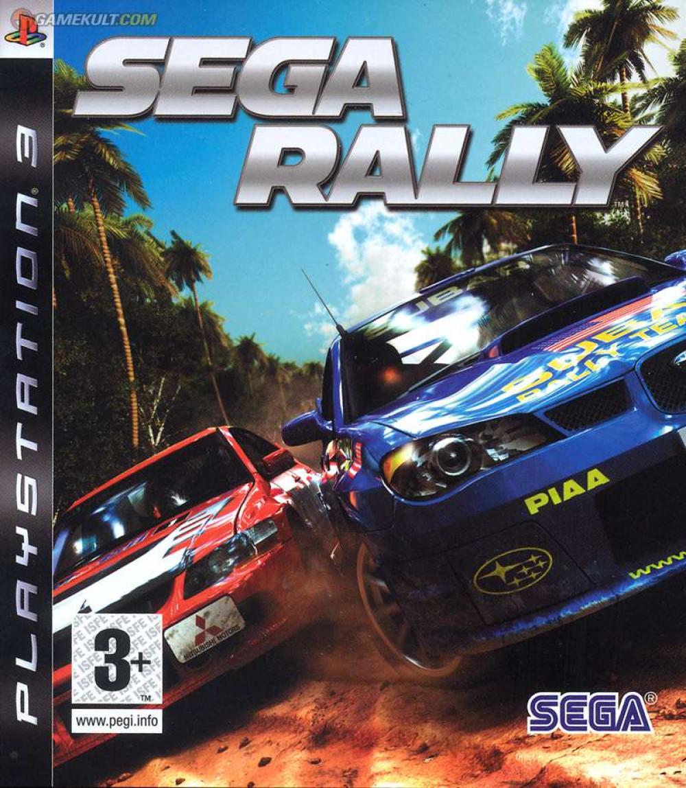 PS3 Sega Rally