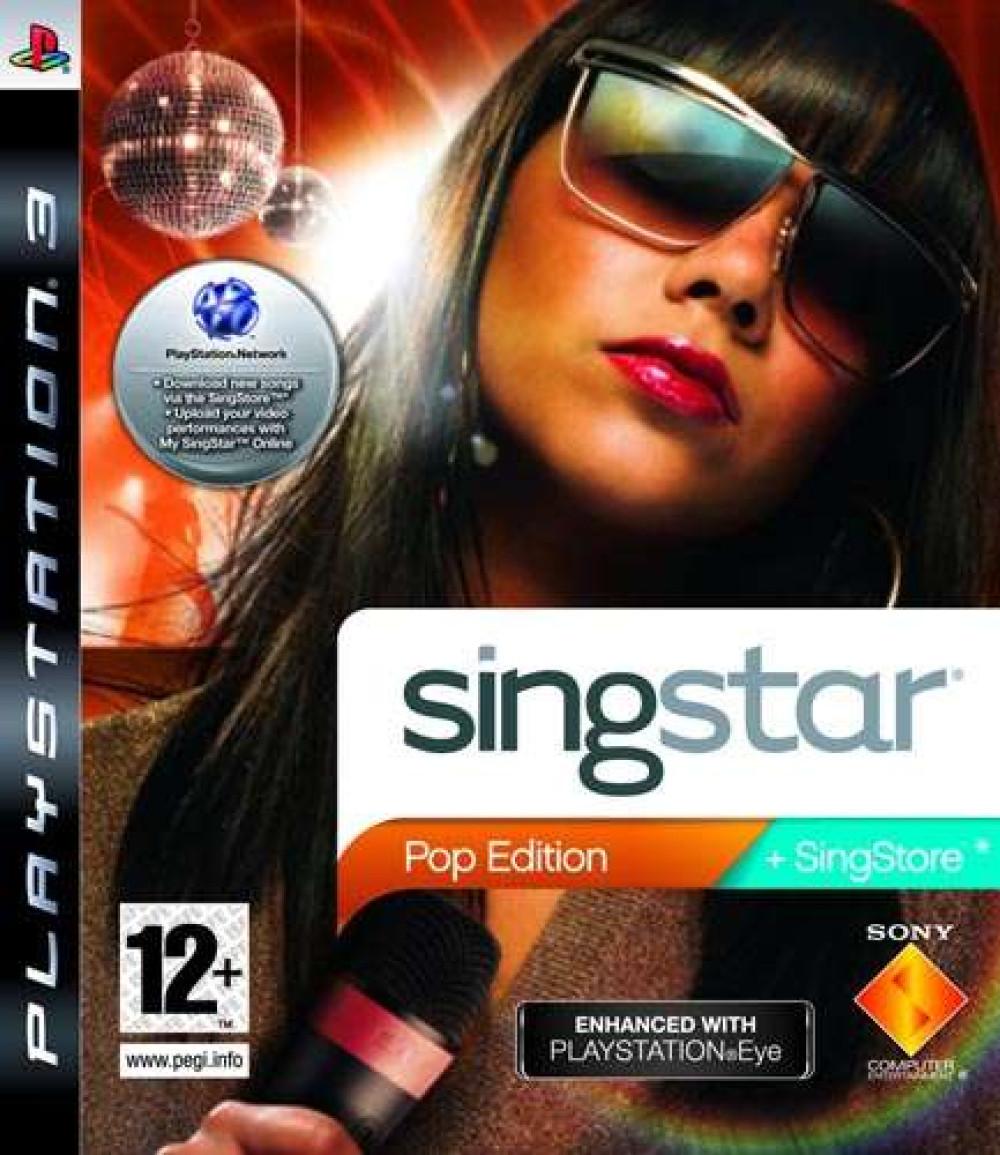 SingStar Pop Edition PS3