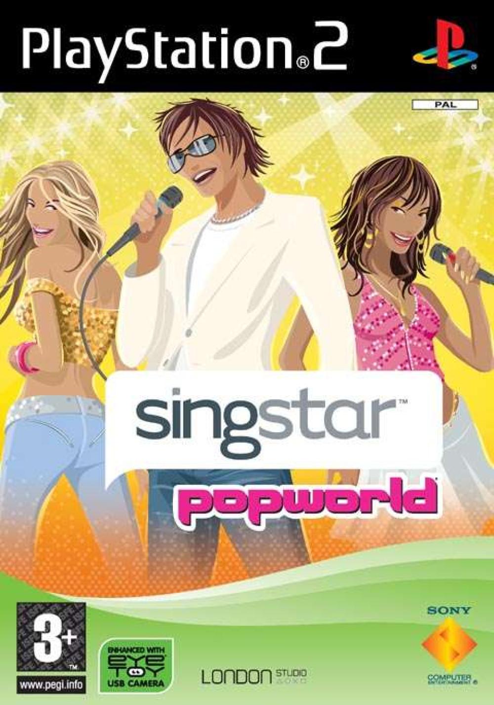 Singstar Popworld PS2